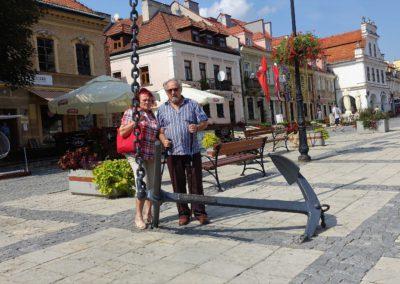 004 cd Kotwica na Rynku Sandomierza