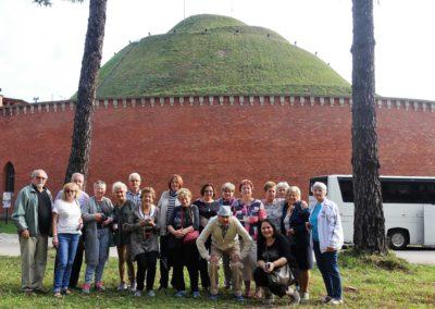 087 grupa przed Kopce Kościuszki