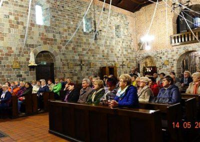 019. We wnętrzu kościoła od 2008r. noszącego tytuł Bazyliki Mniejszej