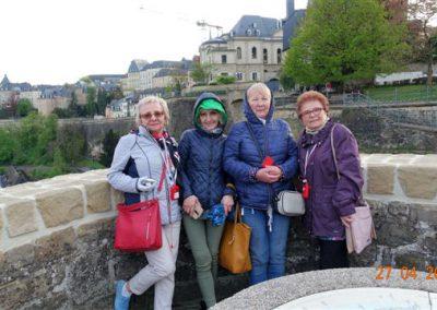 Widok na Luksemburg
