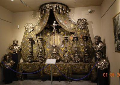 018 Barokowy wystrój Ołtarza Głównego Katedry