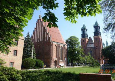 051 Widok na Katedrę w Poznaniu