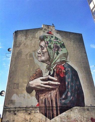 mural - stare kino