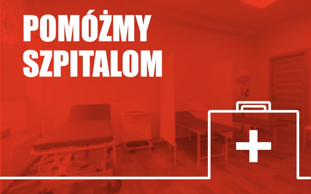 Ogłoszenie-Pomoc dla szpitali